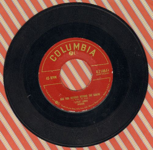 Dickens, Little Jimmy - I'm Braver Now/Are You Insured Beyond The Grave - EX8/ - 45 rpm Records