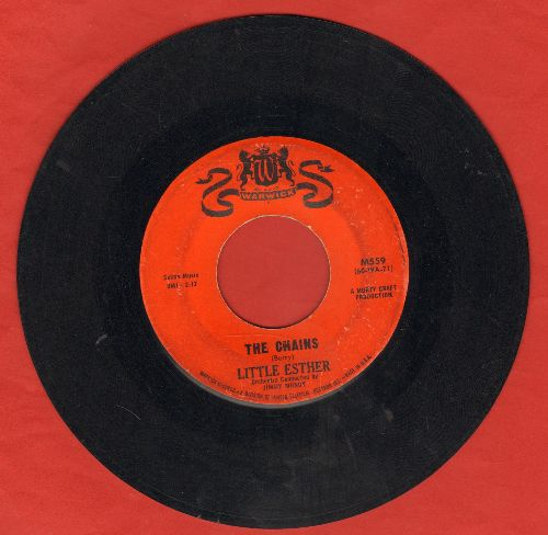 Little Esther - The Chains/Feel Like I Wanna Cry - VG6/ - 45 rpm Records