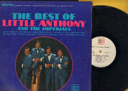 Little Anthony & The Imperials - The Best Of Little Anthony & The Imperials: Goin' Out Of My Head, Shimmy Shimmy Ko-Ko Bop, Tears On My Pillow, Hurt, Never Again (Vinyl STEREO LP record) - EX8/EX8 - LP Records