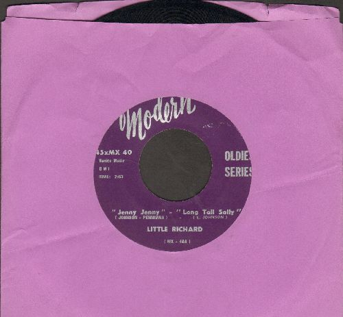 Little Richard - Jenny Jenny -- Long Tall Sally/I'm Back (re-issue) - EX8/ - 45 rpm Records