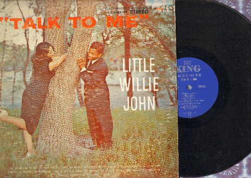 Little Willie John - Talk To Me: Person To Person, Tell It Like It Is, Drive Me Home, Until You Do (Vinyl STEREO LP record) - EX8/VG6 - LP Records