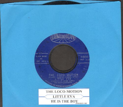Little Eva - The Loco-Motion/He Is The Boy (with juke box label) - VG7/ - 45 rpm Records