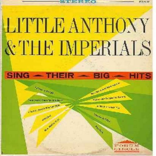 Little Anthony & The Imperials - Their Big Hits: Undecided, All Or Nothing At All, Tears On My Pillow, Ooooh! Look-A There Ain't She Pretty, I'll Never Smile Again (Vinyl STEREO LP record) - NM9/VG7 - LP Records