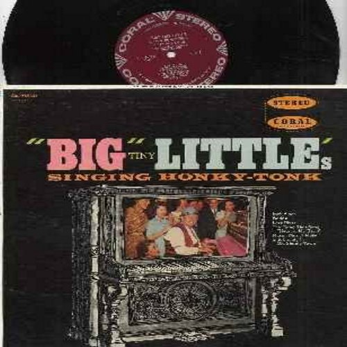 Little, Big Tiny - Big Tiny Little's Singing Honky Tonk: Daddy, Lazy River, Rag Mop, Doole Doo Doo, Music! Music! Music! (Vinyl STEREO LP record, burgundy label first issue, NICE condition!) - NM9/NM9 - LP Records