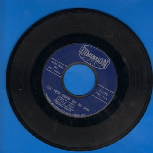 Little Eva - Keep Your Hands Off My Baby/Where Do I Go? - VG6/ - 45 rpm Records