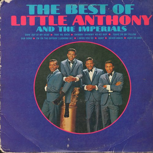 Little Anthony & The Imperials - The Best Of Little Anthony & The Imperials Volume 2: Georgy Girl, A Thousand Miles Away, When You Wish Upon A Star (Vinyl LP record, re-issue of vintage recordings) - EX8/VG6 - LP Records