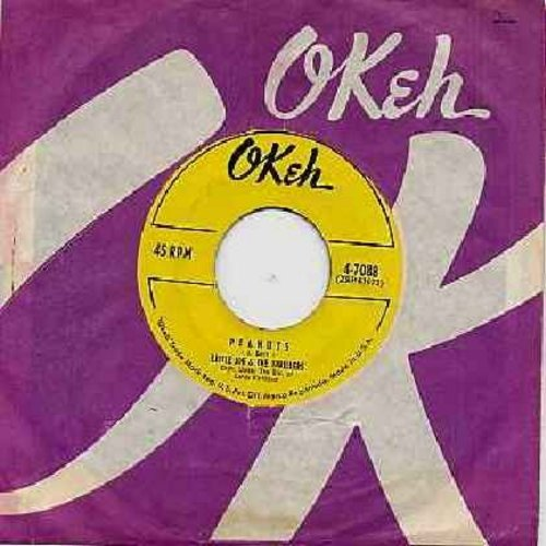 Little Joe & The Thrillers - Peanuts/Lilly Lou (yellow label) (with RARE Okeh company sleeve) - EX8/ - 45 rpm Records