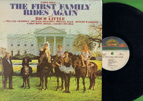 Little, Rich, Melanie Chartoff, Michael Richards, Earl Doud, Vaughn Meader - Earl Doud Presents The First Family Rides Again (Hilarious Ronald Reagan Parody in the form of the legendary 1962 JFK Comedy Album!) (Vinyl STEREO LP record) - NM9/EX8 - LP Recor