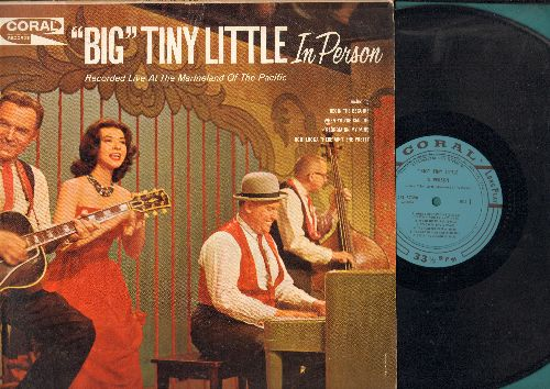 Little, Big Tiny - In Person: Begin The Beguine, When You're Smiling, Georgia On My Mind, You Are My Sunshine (vinyl MONO LP record) - NM9/VG7 - LP Records
