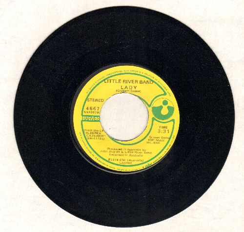 Little River Band - Lady/Take Me Home  - NM9/ - 45 rpm Records