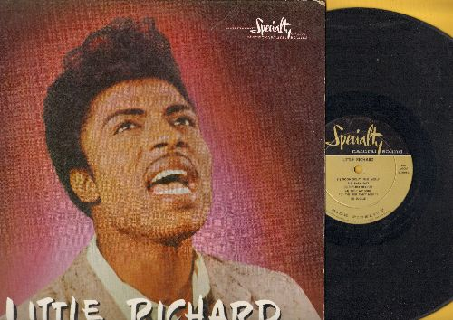 Little Richard - Little Richard: Keep A Knockin', Send Me Some Lovin', Heeby-Jeebies, Baby Face, The Girl Can't Help It, Lucille, Good Golly Miss Molly (vinyl MONO LP record, RARE 1958 first pressing) - EX8/VG7 - LP Records