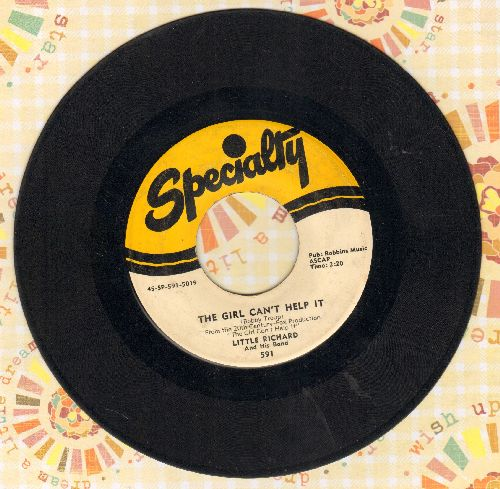 Little Richard - The Girl Can't Help It/All Around The World - VG6/ - 45 rpm Records
