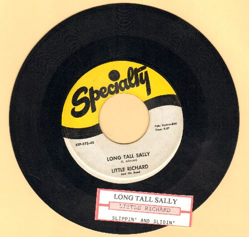 Little Richard - Long Tall Sally/Slippin' And Slidin' (with juke box label) - EX8/ - 45 rpm Records