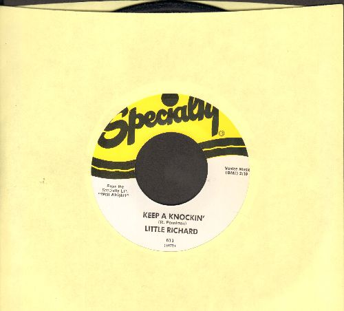 Little Richard - Keep A Knockin' (But You Can't Come In)/Can't Believe You Wanna Leave (authentic-looking re-issue, MINT condition!) - NM9/ - 45 rpm Records