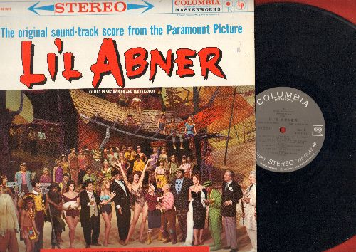 Li'l Abner - Li'l Abner - Original Motion Picture Sound Track (Vinyl STEREO LP record, gray label, white lettering 1960s pressing, NICE condition!) - NM9/NM9 - LP Records