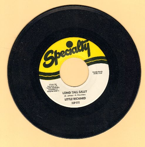 Little Richard - Long Tall Sally/Slippin' And Slidin' (authentic-looking re-issue) - M10/ - 45 rpm Records