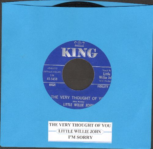 Little Willie John - The Very Thought Of You/I'm Sorry (with juke box label) - NM9/ - 45 rpm Records