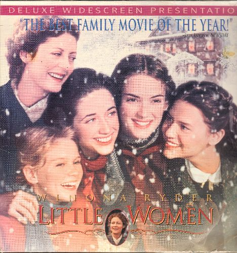Little Women - Little Women - The 1994 Re-Make of the Beloved Classic starring Winona Ryder - This is a set of 2 LASERDISCS, NOT ANY OTHER KIND OF MEDIA! - NM9/EX8 - LaserDiscs