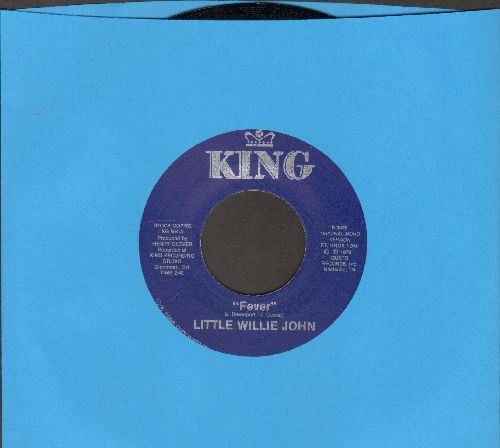 Little Willie John - Fever/Sleep (authentic-looking double-hit re-issue) - NM9/ - 45 rpm Records