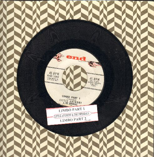 Little Anthony & The Imperials - Limbo (Parts 1 + 2) (with juke box label) - NM9/ - 45 rpm Records