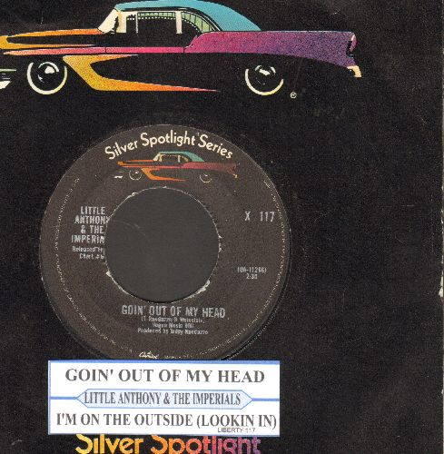 Little Anthony & The Imperials - Goin' Out Of My Head/I'm On The Outside (Looking In)(double-hit re-issue with juke box label and company sleeve) - NM9/ - 45 rpm Records