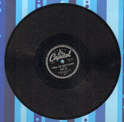Lee, Peggy with Benny Goodman Sextet - Swing Low Sweet Chariot/Speaking Of Angels (10 inch 78 rpm record) - NM9/ - 78 rpm