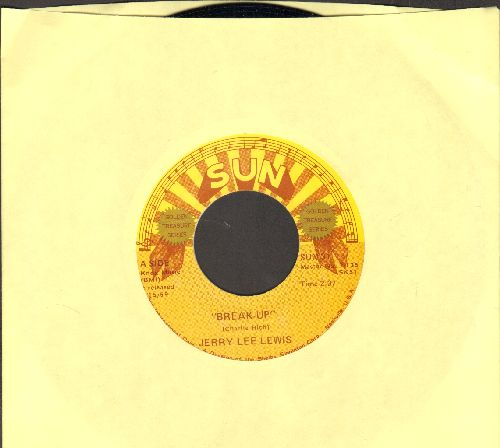 Lewis, Jerry Lee - Break-Up/I'll Make It All Up To You (authentic-looking double-hit re-issue) - NM9/ - 45 rpm Records