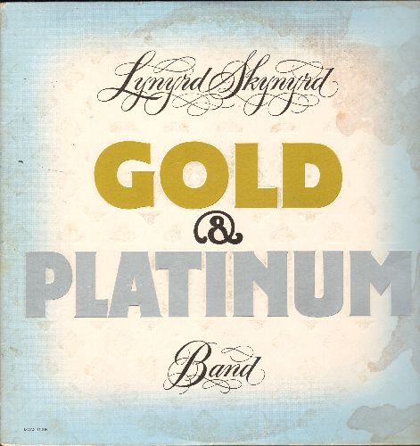 Lynyrd Skynyrd - Gold & Platinum: Sweet Home Alabama, Free Bird, Saturday Night Special, That Smell, Simple Man (2 vinyl LP record set, gate-fold cover) - VG7/VG7 - LP Records