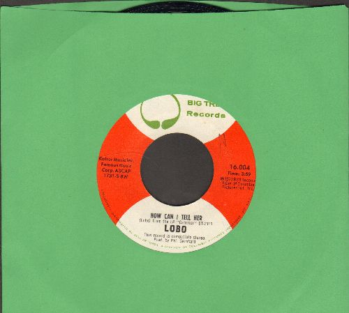 Lobo - How Can I Tell Her/Hope You're Proud Of My Girl - EX8/ - 45 rpm Records