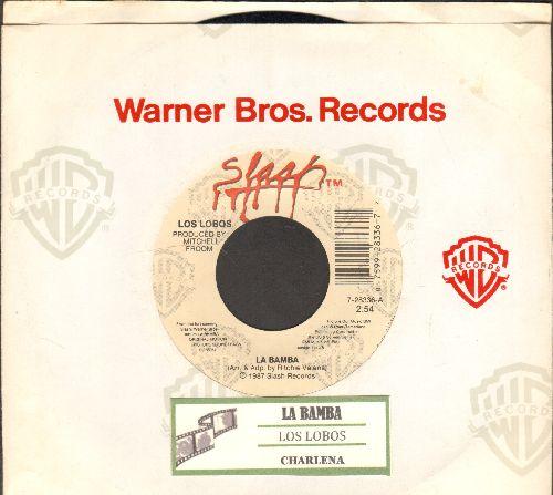 Los Lobos - La Bamba/Charlena (with Warner Brothers company sleeve and juke box label) - NM9/ - 45 rpm Records