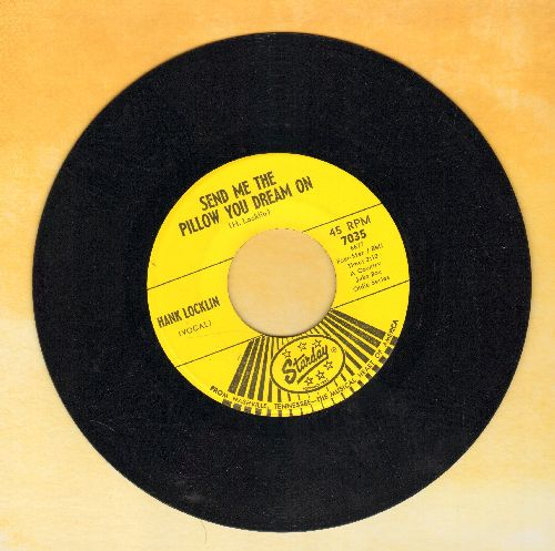 Locklin, Hank - Send Me The Pillow You Dream On/Let Me Be The One - VG7/ - 45 rpm Records
