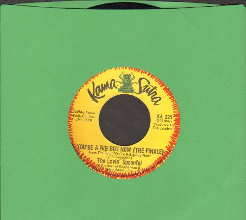 Lovin' Spoonful - Six O'Clock/You're A Big Boy Now (The Finale) (bb) - NM9/ - 45 rpm Records