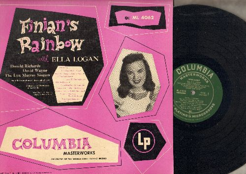 Finian's Rainbow - Finian's Rainbow - Original Cast starring Ella Logan, Donald Richards, David Wayne and The Lyn Murray Singers (Vinyl MONO LP record) - NM9/EX8 - LP Records