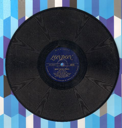Brewer, Teresa - Music! Music! Music!/Copenhagen (10 inch 78 rpm record) - VG7/ - 45 rpm Records
