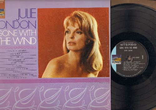 London, Julie - Gone With The Wind: A Nightingale Scan Sing The Blues, Say It Isn't So, How Deep Is The Ocean (vinyl STEREO LP record) - NM9/NM9 - LP Records