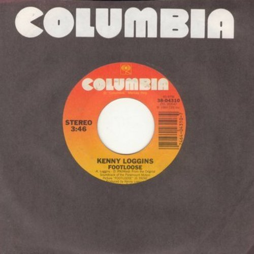 Loggins, Kenny - Footloose/Swear Your Love  - NM9/ - 45 rpm Records