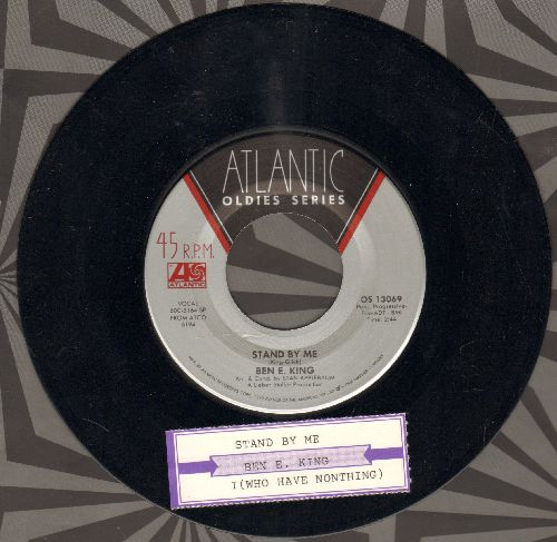 King, Ben E. - Don't Play That Song (You Lied)/Spanish Harlem (double-hit re-issue with juke box label) - EX8/ - 45 rpm Records