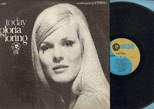 Loring, Gloria - Today: Catch The Wind, Going Out Of My Head, Good Day Sunshine, One Way Ticket (Vinyl STEREO LP record) - EX8/VG7 - LP Records