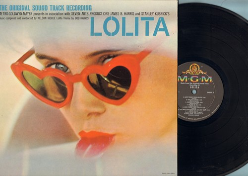 Lolita - Lolita - Original Motion Picture Sound Track featuring Score by Nelson Riddle. Includes the famous Love Theme From Lolita and Lolita Ya Ya. (vinyl STEREO LP record, gate-fold cover) - NM9/NM9 - LP Records