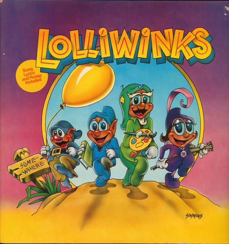Lolliwinks - Lolliwinks: Just Blink, Yellow Balloon, Hands Up (Give Me Your Heart), Wink At Me, If There Were No Colors (Vinyl STEREO LP record, gate-fold cover) - NM9/EX8 - LP Records