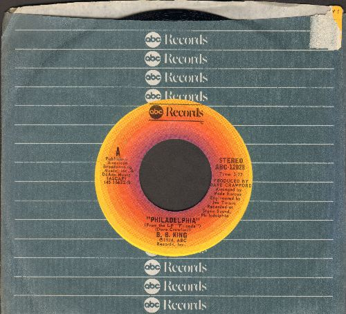King, B. B. - Philadelphia/Up At 5 AM (with ABC company sleeve) - NM9/ - 45 rpm Records