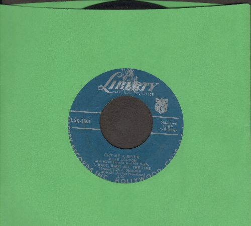 London, Julie - Cry Me A River/S'wonderful  - VG7/ - 45 rpm Records
