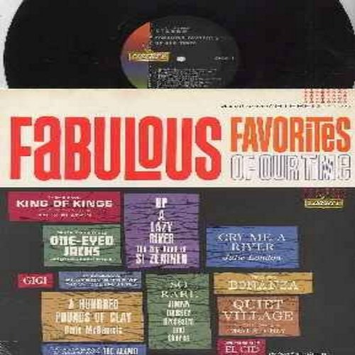 London, Julie, Gene McDaniel, Si Zentner, others - Fabulous Favorites Of Our Times: Cry Me A River, A Hundred Pounds Of Clay, Up A lazy River, Theme From Bonanza, Gigi (vinyl STEREO LP record) - M10/EX8 - LP Records