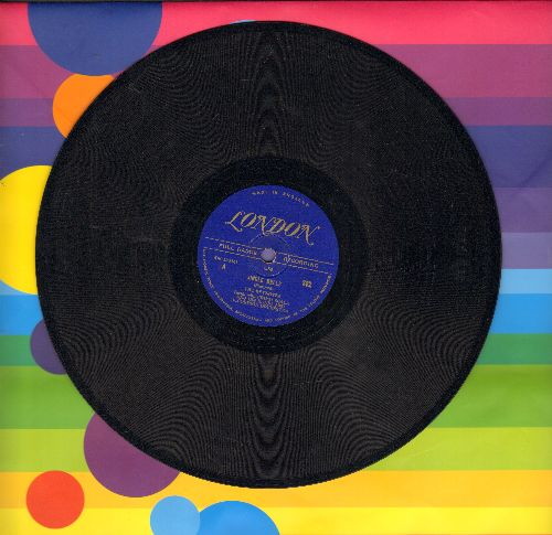 Keynotes - Jingle Bells/The Mistletoe Kiss (10 inch 78 rpm record, 1948 British Pressing) - EX8/ - 78 rpm
