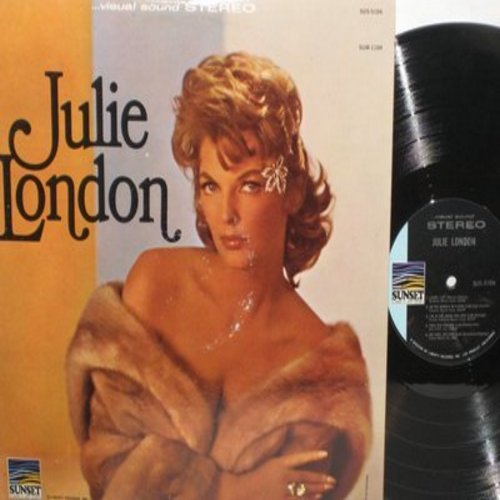 London, Julie - Julie London: Blue Moon, I'm In The Mood For Love, That Old Feeling, Bill Bailey Won't You Please Come Home (Vinyl STEREO LP record) - NM9/EX8 - LP Records