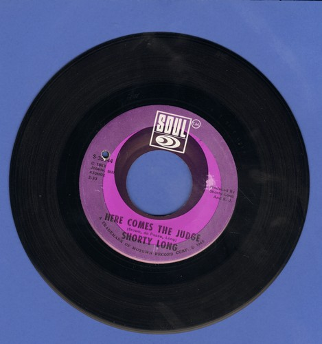Long, Shorty - Here Comes The Judge/Sing What You Wanna (bb) - EX8/ - 45 rpm Records