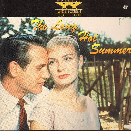 Long Hot Summer - The Long Hot Summer Widescreen LASERDISC Starring Paul Newman and Joanne Woodward - NM9/EX8 - LaserDiscs