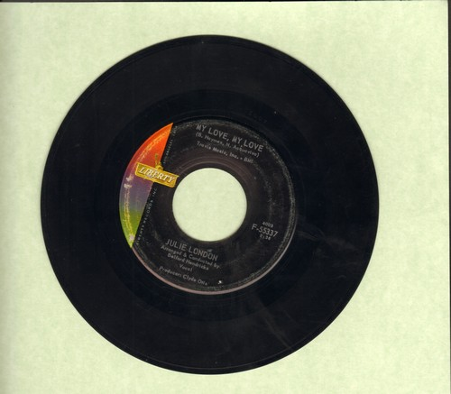 London, Julie - My Love, My Love/My Darling, My Darling  - EX8/ - 45 rpm Records