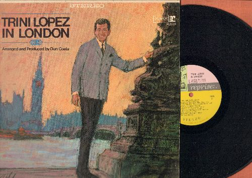 Lopez, Trini - Trini Lopez In London: Strangers In The Night, Mame, Gonna Get Along Without Ya Now, Fever (Vinyl STEREO LP record) - EX8/VG7 - LP Records