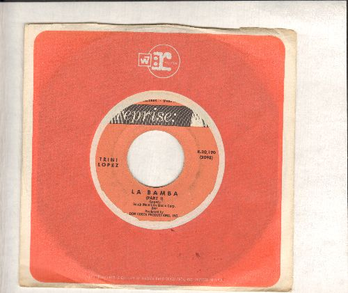 Lopez, Trini - La Bamba (parts 1 + 2) (with vintage Reprise company sleeve) - EX8/ - 45 rpm Records
